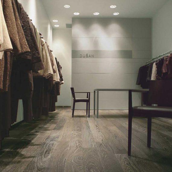 arredo atelier abbigliamento New York progetto arch. Attilio Abate