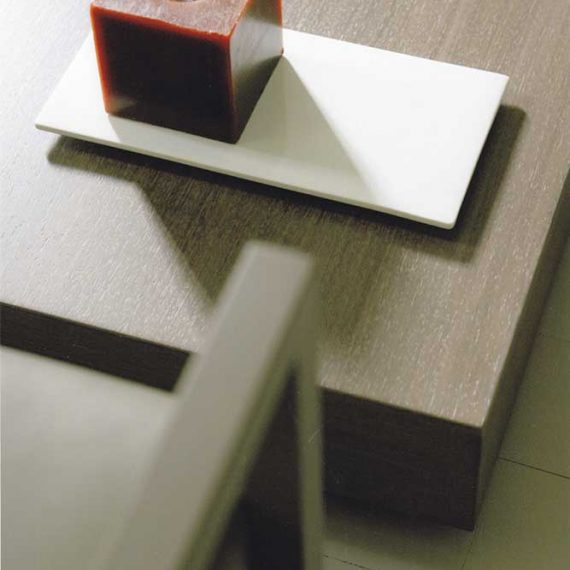 Tavolino laccato opaco per casa privata New York