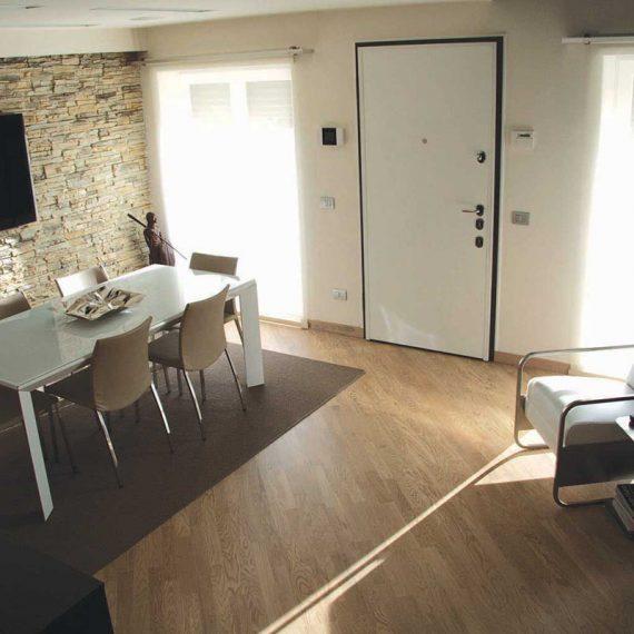 progettazione zona living per abitazione privata