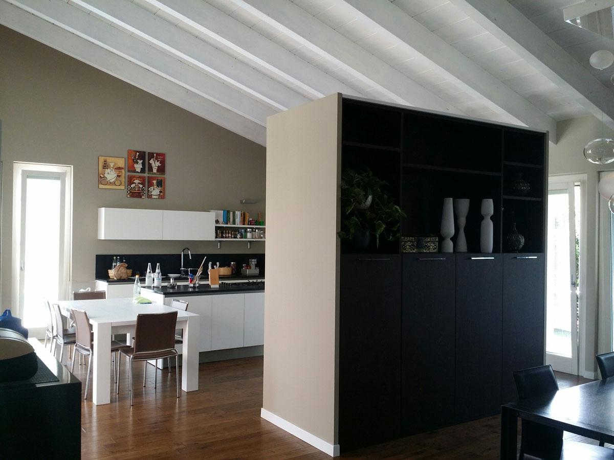 Abitazione privata bergamo mowa arredi for Abitazione design